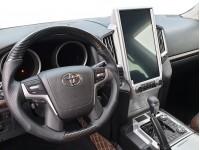 Комплект для переделки салона Toyota Land Cruiser 200 из 07-15 в 2021 Бежевый