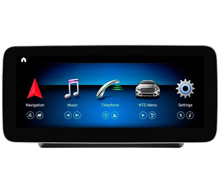 Штатная мультимедийная система Mankana для Mercedes-Benz C W205, GLC X253, V-class на OS Android 10.1