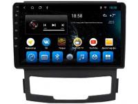 Штатная мультимедийная система Mankana для SsangYong Actyon на OS Android