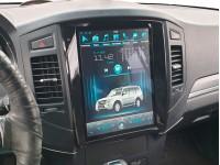 "Штатное головное устройство для Mitsubishi Pajero IV на OS Android 9.0.1, Экран 12,1"""