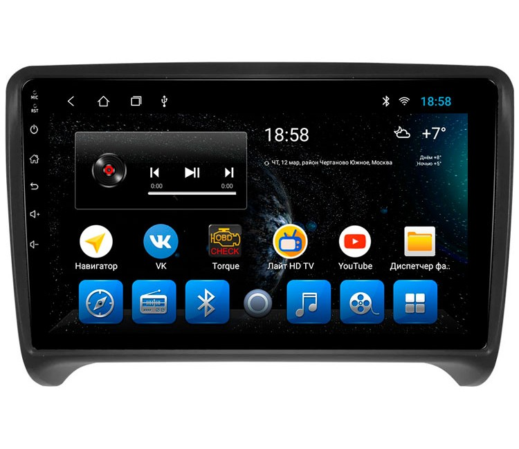 "Головное устройство Mankana BS-09068 для Audi TT 8J на OS Android, Экран 9"""