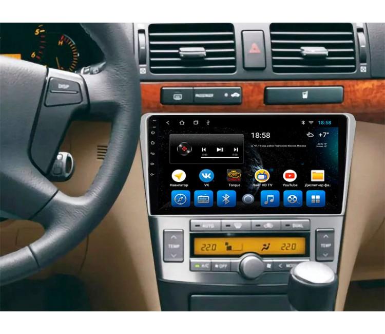 Штатная мультимедийная система для Toyota Avensis T25 на OS Android 10.1