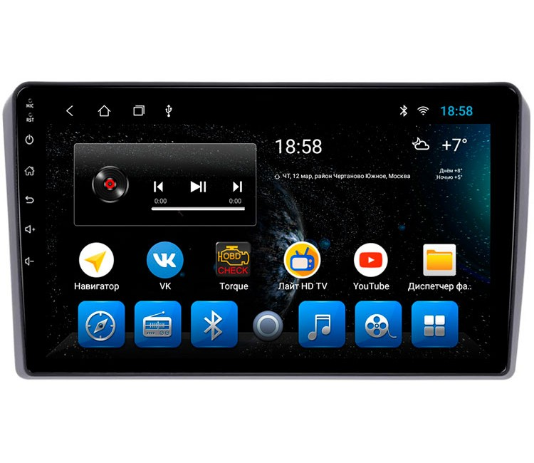 """Головное устройство Mankana BS-09231 для Audi A3 8P 03-13г на OS Android, Экран 9"""""""