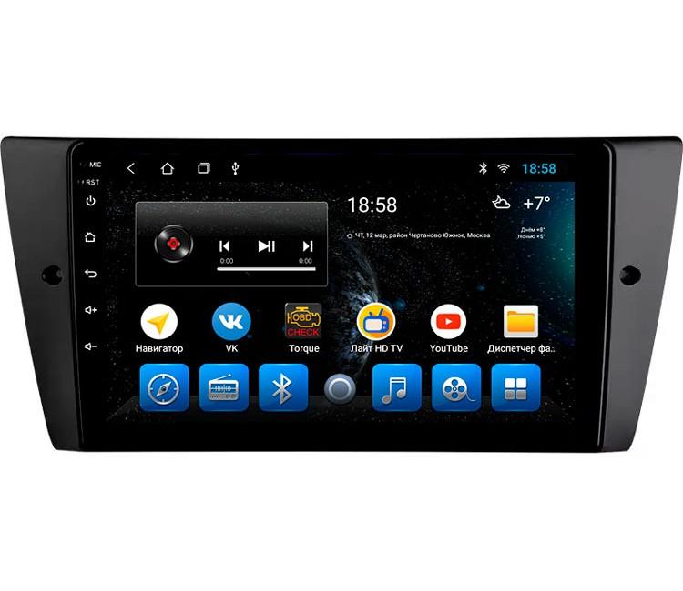 "Головное устройство Mankana BS-09102 BMW 3-series E90 05-12г на OS Android, Экран 9"""