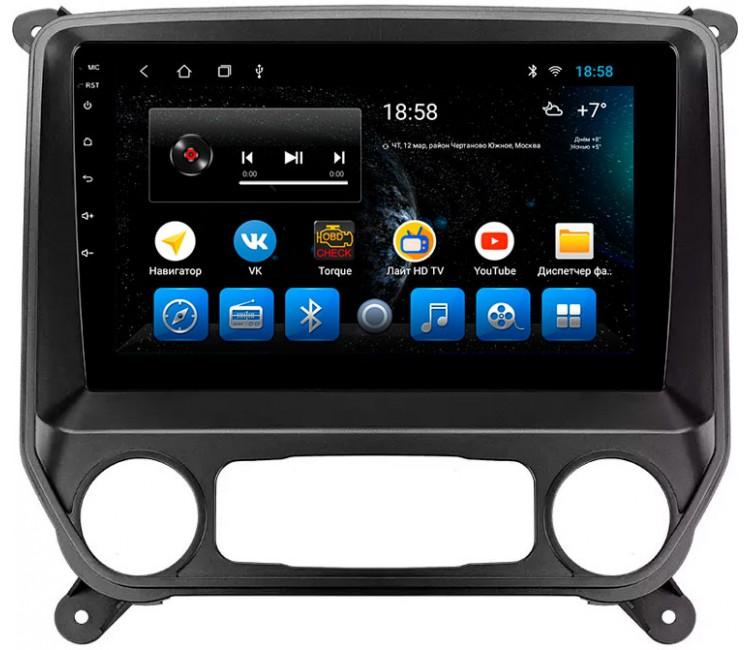 "Головное устройство Mankana BS-09016 для Chevrolet Silverado и GMC Sierra K2XX на OS Android, Экран 10,1"""