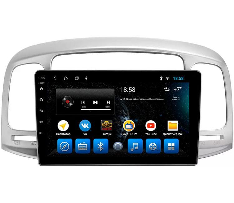 "Головное устройство Mankana BS-09196 для Hyundai Accent 06-11г на OS Android, Экран 9"""