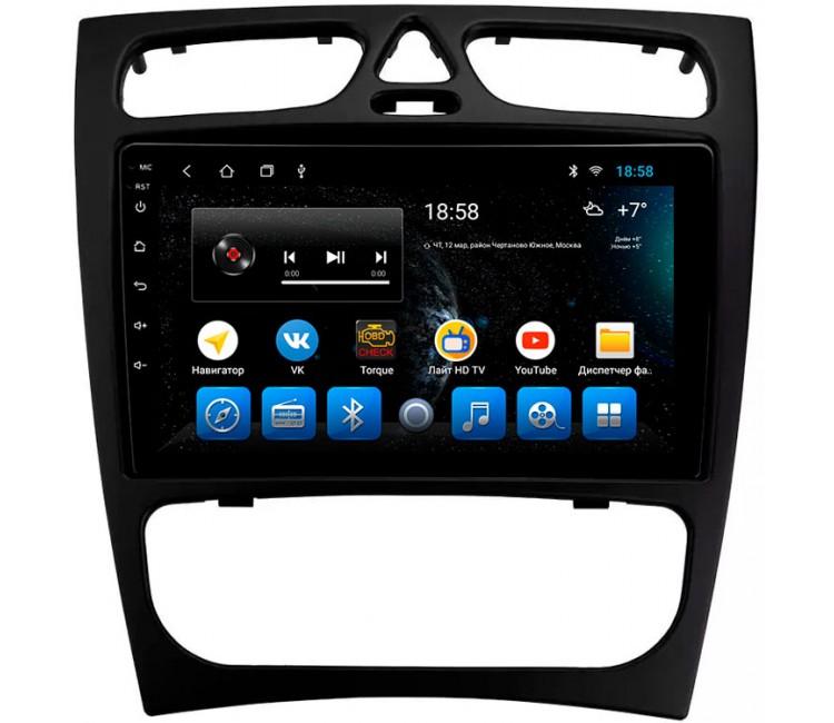 "Головное устройство Mankana BS-09185 для Mercedes C-class W203 00-04г, CLK W209 02-05г на OS Android, Экран 9"""