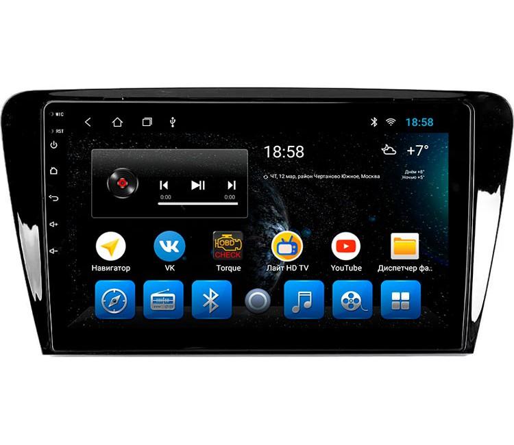 """Головное устройство Mankana BS-10367 для Skoda Octavia A7 на OS Android, Экран 10.1"""""""
