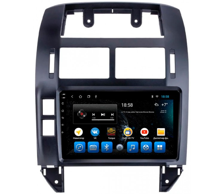 "Головное устройство Mankana BS-09223 для Volkswagen Polo IV 01-09г на OS Android, Экран 9"""