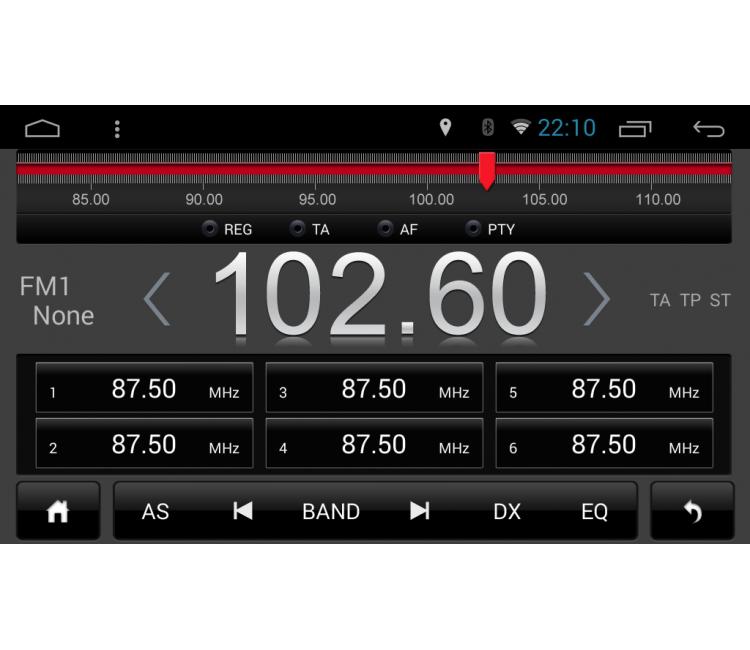 Штатное головное устройство для Toyota Camry XV40 на OS Android 9.0.1