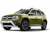 Защита порогов Ø63мм (сталь покр) Renault Duster