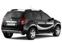 Защита порогов с алюм. площадкой Ø51мм (нерж) для Renault Duster