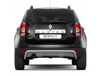 Защита заднего бампера Ø51мм (нерж) Renault Duster