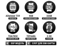 Универсальное головное устройство на OS Android 8.0.1 TS9 4+32